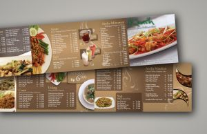 Restaurant Menu by KadirIsAskater