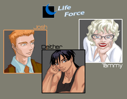 Life Force: Character sketches by SharmClucas