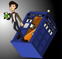 the 11th doctor tardis by CPD-91