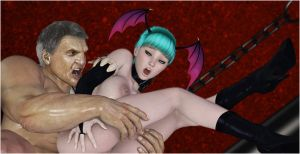 Morrigan and the Gladiator PREVIEW 03 by Zzomp