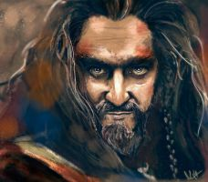 Thorin, King Under The Mountain. by Sweetcidia