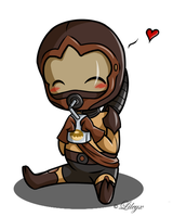 chibi Yeever by Lileyx
