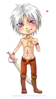 Gift: Chibi Hyde by AurionPride