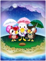 Animal Crossing: Rainy Day by RinTau