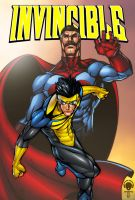 Invincible  pin up by juan7fernandez