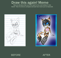 Sashi - Draw This Again! by LordMuffinX3