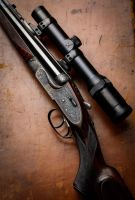 Holland and Holland Royal chambered in .240 Apex by Carpathia2013