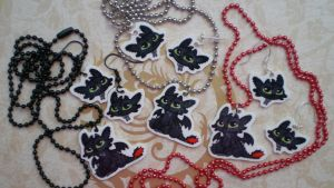 Toothless Jewelry by SugarTrip