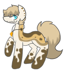 Brown Pony Adopt by LimeFire-MLP-Adopts