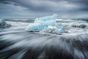 Stranded Ice by Stridsberg