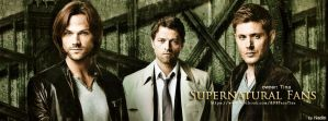 Supernatural Fans (Banner for FB) by Nadin7Angel