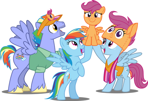 Vector #702 - SCOO-TA-LOO! by DashieSparkle