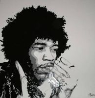 Jimi -close up by fionabird