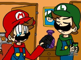 Mario and Luigi parental controls by Shania67