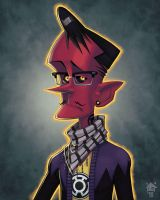 Sinestro: Yearbook Photo by GhostHause