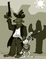 Sam and Max Wild West Colored by Shinyako