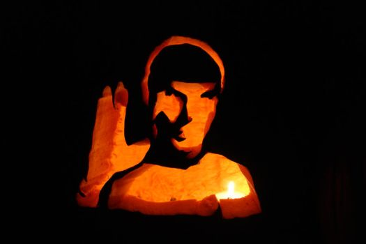 Pumpkin Spock by robyriker