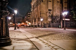 Parvis notre dame by spinal123