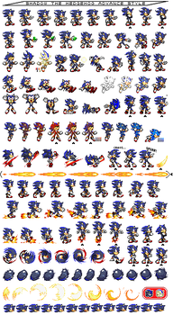 Dylan the vamphog sprite sheets by sonic-boom753