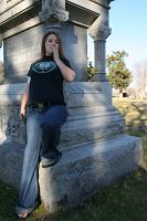Blonde in the Cemetery - 7 by SafariSyd