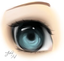 Eye Practice by Darth-Crumb