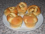 Apple Brioche Buns by Bisected8