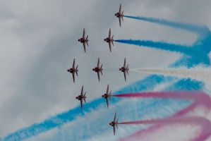 Red arrows 2011 by panRobus