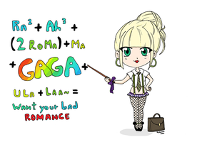 Simple Gaga by happybutterfly
