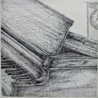 Grampy's Piano by Contrast-and-Colour