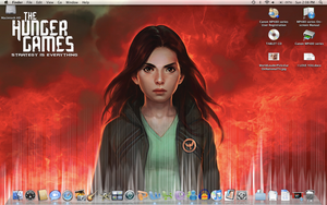 Hunger Games Desktop by bodiechan