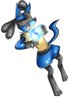 Lucario Pagedoll by Eloylie