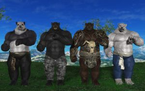 The Giant Bear Brothers by Spino2006