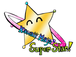 Gift: Kawaii Majo Super Star Logo by YuniNaoki