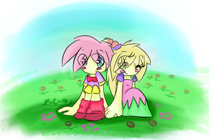 Kirby and Tiff by MySoulBeat