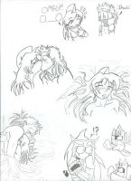 RP With Baby Doll Doodles by AGirlCalledFred
