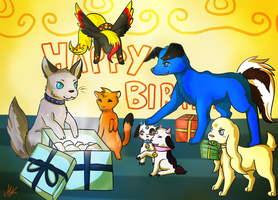 CE: Katinka's Birthday party by Lizzara