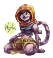 Neyla by AlexandreDesplat-fan