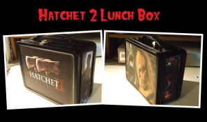 Hatchet 2 Custom Lunch Box by kreepykustomz