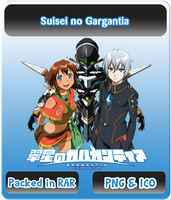 Suisei no Gargantia - Anime Icon by Rizmannf