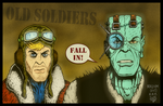 Old Soldiers by MalcolmKirk