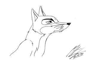 The Animals of Farthing Wood - Fox by MortenEng21