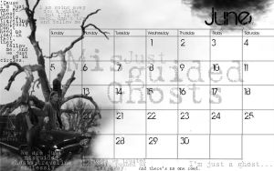 Supernatural June Calendar by Falthee