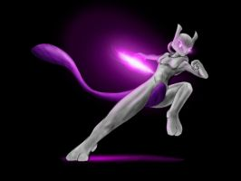 Mewtwo desktop by AlloyRabbit