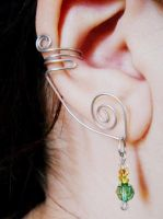 DIY Fairy/Elf Wire Ear Cuff by RubyReminiscence