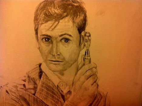 David Tennant Doctor Who by Eden-ArtFromTheHeart
