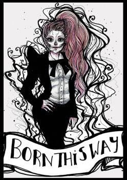 Lady Gaga: Born this way by Roots-Love