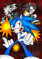 Sonic Shadow Silver by ZiizChany