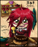 chibi Grell: patty-cake by Isi-Daddy