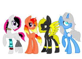 Pony Adoptables! by MidnightStar432