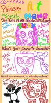 Phineas and Ferb Art Meme by SuperRainbowGirl